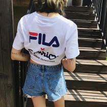 日本卡通品牌sawnio與FILA共同帶來最新聯名企劃,選用雙方經典logo傳播品牌文化,健康活性印染結合高密度純棉布料帶來不壹樣的