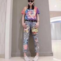 莫斯奇諾專櫃最新款女士牛仔褲