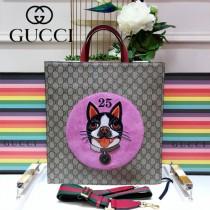 GUCCI-450950  古馳時尚新款經典原版皮寵物系列手提肩背包 男女通用