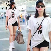 GUCCI-459311-03  古馳2018潮流時尚新款經典原版皮旅行袋 手提包