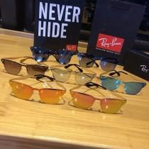 太陽眼鏡00123521RayBan雷朋新品驕陽系列太陽眼鏡男女個性時尚彩膜反光鏡