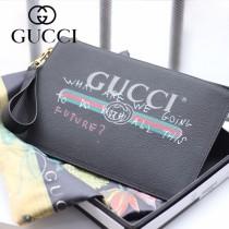 GUCCI-494320  古馳2018時尚新款經典原版百搭皮手包 便攜化妝包