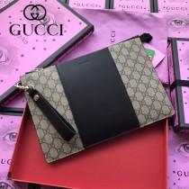 GUCCI-495017  古馳2018時尚潮流新款經典原版皮百搭男女同款手包