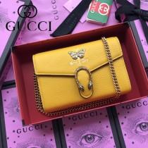 GUCCI-516931-04 古馳新款原版皮時尚潮流最IN酒神包新款斜背包 手拿包