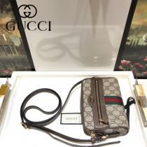 GUCCI-517350 古馳新款時尚全新Ophidia系列原版皮浪漫復古文藝風相機包
