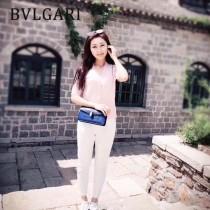 Bvlgari-37044-03 寶格麗時尚新款左蕭岸同款純銅式的五金鏈條蛇頭包