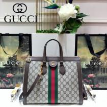 GUCCI-524537 古馳時尚新款全新Ophidia系列復古中號手提包 枕頭包