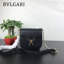 "Bvlgari-0017-02 寶格麗時尚新款原單""DIVAS' DREAM""天堂碧玉粒面小牛皮翻蓋包"
