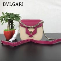"Bvlgari-0017 寶格麗時尚新款原單""DIVAS' DREAM""天堂碧玉粒面小牛皮翻蓋包"