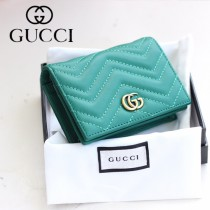 GUCCI-466492-03 古馳時尚新款原版皮經典時尚百搭卡包 短夾