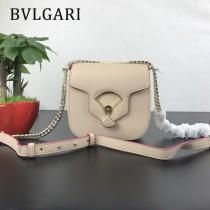 "Bvlgari-0017-01 寶格麗時尚新款原單""DIVAS' DREAM""天堂碧玉粒面小牛皮翻蓋包"