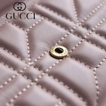 GUCCI-443436-01 古馳時尚新款原版皮經典休閒百搭2折長夾 2折钱包