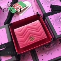 GUCCI-466492-015 古馳時尚新款原版皮經典時尚百搭卡包 短夾