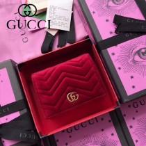 GUCCI-466492-011 古馳時尚新款原版皮經典時尚百搭卡包 短夾