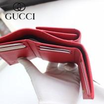 new arrivals f8b07 1abbd GUCCI-474746 古馳時尚新款原版皮經典時尚百搭卡包三折短夾LV ...