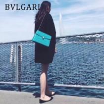 Bvlgari-35362-3 寶格麗時尚新款左蕭岸同款純銅式的五金鏈條蛇頭包