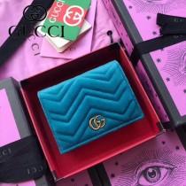 GUCCI-466492-016 古馳時尚新款原版皮經典時尚百搭卡包 短夾