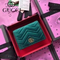 GUCCI-466492-017 古馳時尚新款原版皮經典時尚百搭卡包 短夾