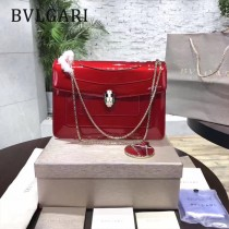 Bvlgari-35362-7 寶格麗時尚新款左蕭岸同款純銅式的五金鏈條蛇頭包