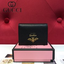 GUCCI-499361-03 古馳時尚新款原版皮經典時尚卡包 零钱包