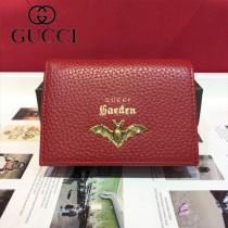 GUCCI-499361-04 古馳時尚新款原版皮經典時尚卡包 零钱包