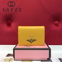 GUCCI-499361-05 古馳時尚新款原版皮經典時尚卡包 零钱包
