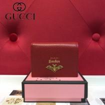 GUCCI-499361-06 古馳時尚新款原版皮經典時尚卡包 零钱包