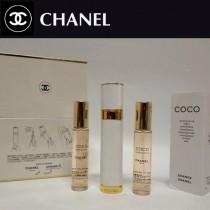 Chanel香水-033 香奈兒新款COCO香水三件套替換裝