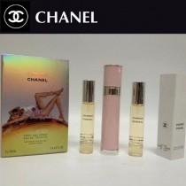 Chanel香水-038 香奈兒黃色機遇系列香水三件套