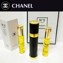 Chanel香水-032 香奈兒新款5號香水三件套替換裝禮盒裝
