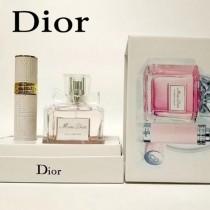 DIOR香水-08 迪奧花漾甜心小姐淡香水旅行補充裝套裝