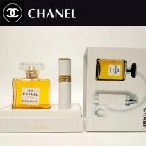 CHANEL香水-03 香奈兒5號女士香水旅行補充套裝兩件套