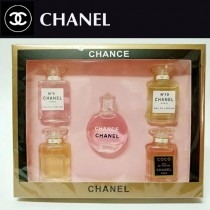Chanel香水-025 香奈兒Q版香水禮盒5件套