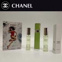 Chanel香水-037 香奈兒綠色機遇系列香水三件套