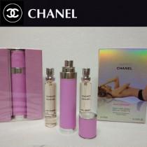 Chanel香水-034 香奈兒粉色機遇系列香水三件套