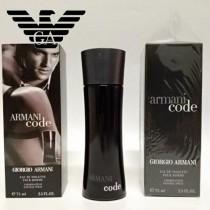 Armani香水-01 阿瑪尼黑色密碼印記男士煙草味香水 75ml