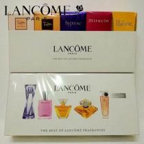 lancome香水-08 蘭蔻專櫃限量版Q版香水五件套禮盒裝