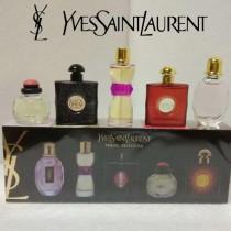 YSL香水-09 聖羅蘭經典Q版香水五件套