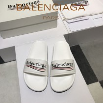 Balenciaga鞋子-08-8 巴黎世家頂級代購版本夏季新款頭層牛皮男女款拖鞋