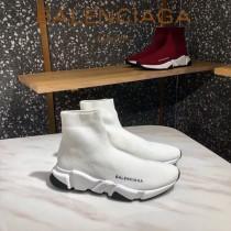 Balenciaga鞋子07-2 巴黎世家成名之作雙色組合大底高幫襪子鞋毛線運動鞋