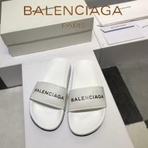 Balenciaga鞋子-08-4 巴黎世家頂級代購版本夏季新款頭層牛皮男女款拖鞋