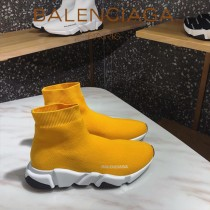 Balenciaga鞋子07-4 巴黎世家成名之作雙色組合大底高幫襪子鞋毛線運動鞋