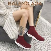 Balenciaga鞋子07 巴黎世家成名之作雙色組合大底高幫襪子鞋毛線運動鞋