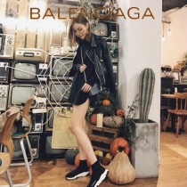 Balenciaga鞋子07-6 巴黎世家成名之作雙色組合大底高幫襪子鞋毛線運動鞋