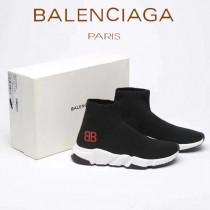 Balenciaga鞋子-05 巴黎世家官網同步更新情侶款BB款短靴襪子鞋