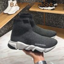 Balenciaga鞋子07-5 巴黎世家成名之作雙色組合大底高幫襪子鞋毛線運動鞋
