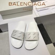 Balenciaga鞋子-08 巴黎世家頂級代購版本夏季新款頭層牛皮男女款拖鞋