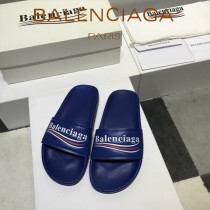 Balenciaga鞋子-08-7 巴黎世家頂級代購版本夏季新款頭層牛皮男女款拖鞋
