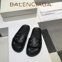 Balenciaga鞋子-08-2 巴黎世家頂級代購版本夏季新款頭層牛皮男女款拖鞋