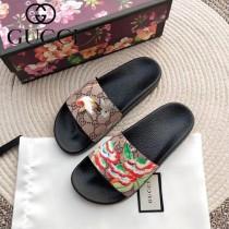 GUCCI鞋子-024 古馳人氣經典系列男女款印花一字拖拖鞋